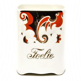 Kruidenpotje 'Foelie' decor Faust van Societe Ceramique