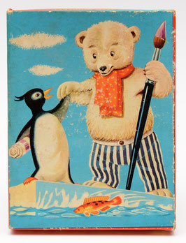 Tom Tas houten kinderpuzzel nummer 2 Pinguïn en IJsbeer