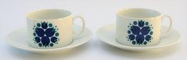 2 kop en schotels (koffie) Rosette van Thomas Germany