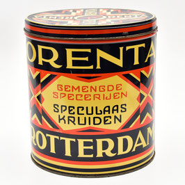 Art-deco blik Orenta - Van Esso - Rotterdam #1