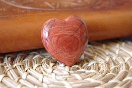Coeur Jaspe rouge T2 - Spécimen I