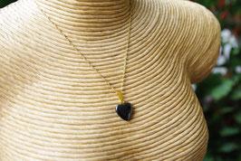 Pendentif coeur Hématite T1
