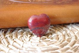Coeur Jaspe Rouge T1 - Spécimen V