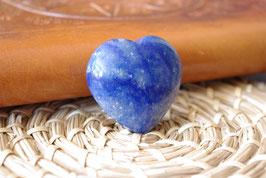 Coeur Quartz bleu T2