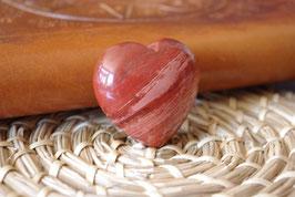 Coeur Jaspe rouge T2 - Spécimen III