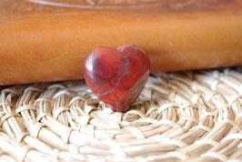 Coeur Jaspe Rouge T1 - Spécimen VII