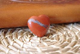 Coeur Jaspe Rouge T1 - Spécimen VI