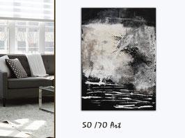 """Acrylbild """"Black & White"""""""