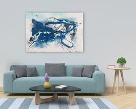 """Acrylbild """" Neue Wege"""", aus der Serie Splash"""