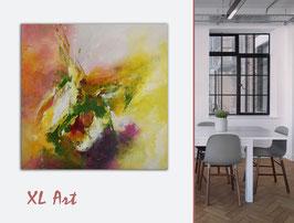 """Acrylbild """"Im Fluss der Farben"""""""