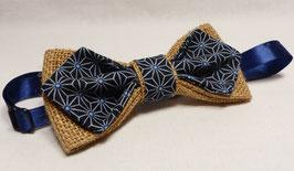 """Collection Tissu Bleu """"Géomètrique"""""""