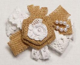 Barrette Fleur ou Noeud Papillon