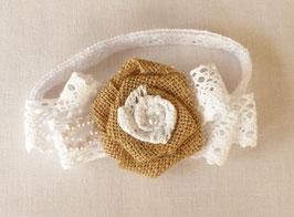 """Bracelet dentelle """" Fleurs """""""