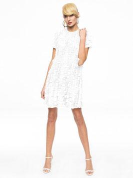 Weißes Kleid Handgemacht