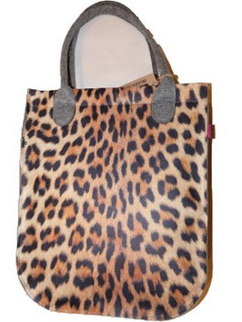 Shopper Leopardenmuster
