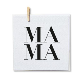 Klappkarte *MAMA*