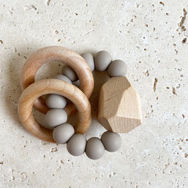 Greifling - Beissring Stone   Taupe