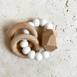Greifling - Beissring Stone   White