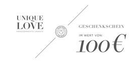 GUTSCHEIN / 100 EURO