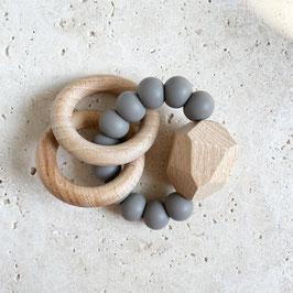 Greifling - Beissring Stone   dark grey