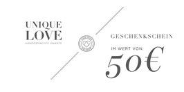 GUTSCHEIN / 50 EURO