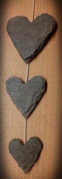 3er Herzband