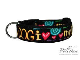 Pöllchen Komforthalsband I Love My Dog