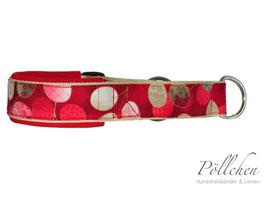 Pöllchen Komfort-Zugstopphalsband Red Asia