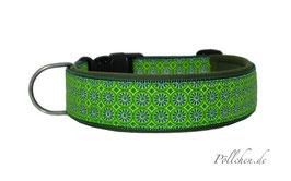 Pöllchen Komforthalsband Symmetrie Grün