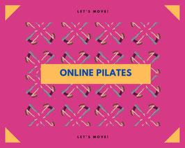 Pilates via Live Stream - 20. April 2021 um 15:30 Uhr - Anfänger Level