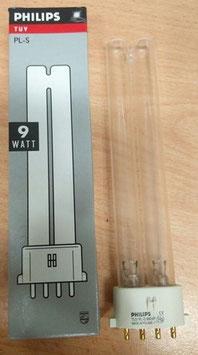 9W UVC reservelamp voor de 254nm UVC Display lamp   (2 stuks aanwezig in de lamp)