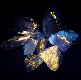 Sfaleriet (Sphalerite) uit Hasselhöjden/Zweden * LW ++++, SW ++