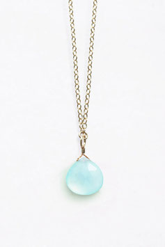 "WANDERLUSTLIFE - HALSKETTE ""LONG LINES COLLECTION - SEA GLASS CHALCEDONY"""