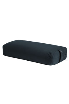 "MANDUKA - BOLSTER  ""RECTANGULAR MIDNIGHT"""