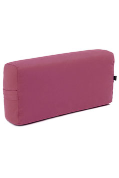 "YOGISTAR – TRIYOGA BOLSTER ECKIG GROSS ""BORDEAUX"""