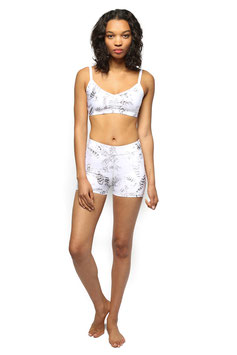 "ELECTRIC & ROSE – BH TOP  ""RIALTO BRALETTE"" FEATHER PRINT"