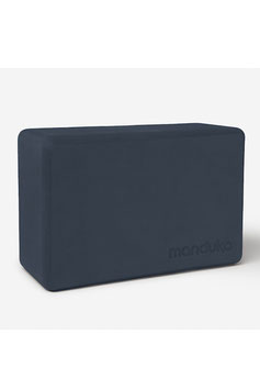 "MANDUKA - YOGABLOCK  ""MIDNIGHT R-FOAM RECYCLED"""