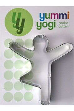 "YUMMI YOGI - SUPERGROSSE (XXL) AUSSTECHFORM ""TREE POSE - VRKSASANA"" COOKIE CUTTER"