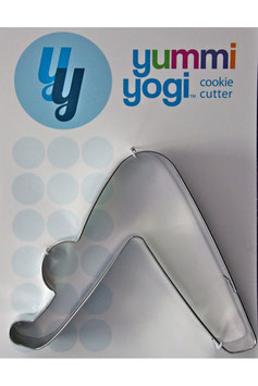 "YUMMI YOGI - SUPERGROSSE (XXL) AUSSTECHFORM ""DOWNWARD FACING DOG POSE - ADHO MUKHA SVANASANA"" COOKIE CUTTER"