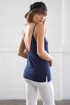 "JOAH BROWN – TANK TOP ""SHOW OFF"" INDIGO"
