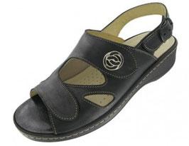Damen Hallux Sandale schwarz