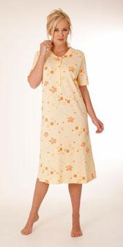 Damen Nachthemd Hajo apricot