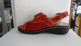 Damen Hallux Sandale rot