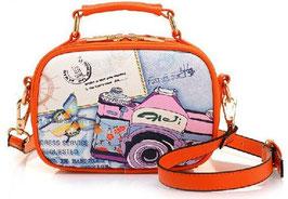 Handtasche BaoBao Kamera orange