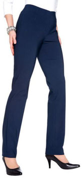 Damenhose blau