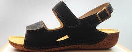 Fischer Damen Sandalette schwarz