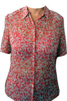 Damen Bluse rot