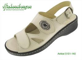 Damen Hallux Sandale creme