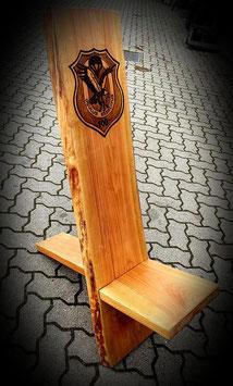 Holz-Steckstuhl mit individuellem Logo