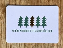 """Art. 20.017 / """"Schöni Wiehnachte u es guets nöis Jahr"""""""